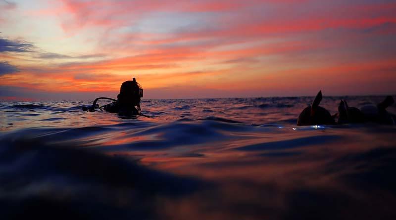 Nachttauchen im Gardasee