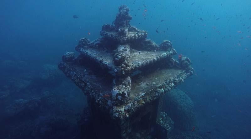Tauchausflug auf Bali
